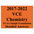 2017-2022 VCAA VCE Chemistry Sample Exam - Detailed Answers