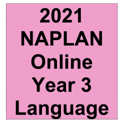 2021 Kilbaha Interactive NAPLAN Trial Test Language Year 3