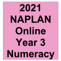 2021 Kilbaha Interactive NAPLAN Trial Test Numeracy Year 3