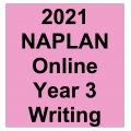 2021 Kilbaha Interactive NAPLAN Trial Test Writing Year 3
