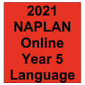 2021 Kilbaha Interactive NAPLAN Trial Test Language Year 5