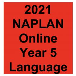 2021 Kilbaha Interactive NAPLAN Trial Test Language Year 5