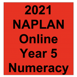 2021 Kilbaha Interactive NAPLAN Trial Test Numeracy Year 5