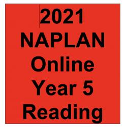 2021 Kilbaha Interactive NAPLAN Trial Test Reading Year 5