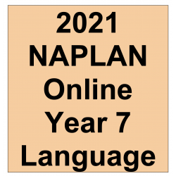 2021 Kilbaha Interactive NAPLAN Trial Test Language Year 7