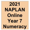 2021 Kilbaha Interactive NAPLAN Trial Test Numeracy Year 7