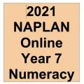 2021 Kilbaha Interactive NAPLAN Trial Test Numeracy Year 7