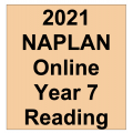 2021 Kilbaha Interactive NAPLAN Trial Test Reading Year 7