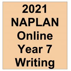 2021 Kilbaha Interactive NAPLAN Trial Test Writing Year 7