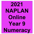2021 Kilbaha Interactive NAPLAN Trial Test Numeracy Year 9