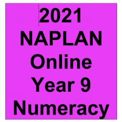 2021 Kilbaha Interactive NAPLAN Trial Test Numeracy Year 9