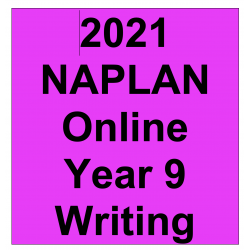 2021 Kilbaha Interactive NAPLAN Trial Test Writing Year 9