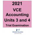 2021 Kilbaha VCE Accounting Units 3 and 4 Trial Examination
