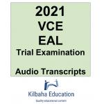 2021 Kilbaha VCE EAL Trial Examination