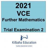 2021 Kilbaha VCE Further Mathematics Trial Examination 2