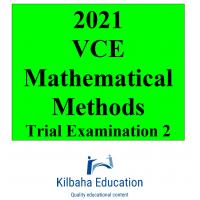 2021 Kilbaha VCE Mathematical Methods Trial Examination 2