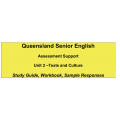 Senior English Unit 2 - Texts and Culture
