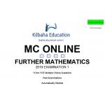 VCAA MC Online 2019 Further Mathematics