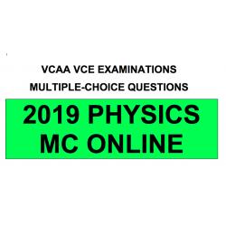 VCAA MC Online 2019 Physics