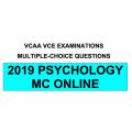 VCAA MC Online 2019 Psychology