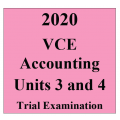 2020 Kilbaha VCE Accounting Units 3 and 4 Trial Examination