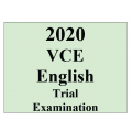 2020 Kilbaha VCE English Trial Examination