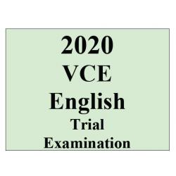 2020 Kilbaha VCE English Trial Examination
