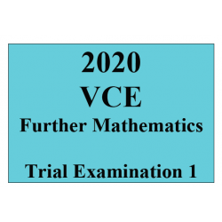 2020 Kilbaha VCE Further Mathematics Trial Examination 1