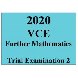 2020 Kilbaha VCE Further Mathematics Trial Examination 2