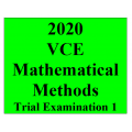 2020 Kilbaha VCE Mathematical Methods Trial Examination 1