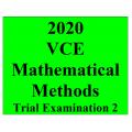 2020 Kilbaha VCE Mathematical Methods Trial Examination 2