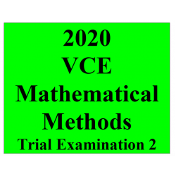 2020 Kilbaha VCE Mathematical Methods Trial Examination 2