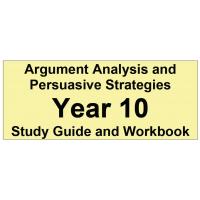 Argument Analysis and Persuasive Strategies Year 10