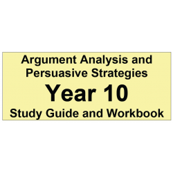 Argument Analysis and Persuasive Strategies Year 10