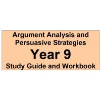 Argument Analysis and Persuasive Strategies Year 9
