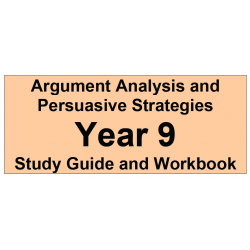 Argument Analysis and Persuasive Strategies Year 9