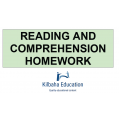Reading and Comprehension Exercises
