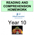 Reading and Comprehension Year 10