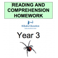 Reading and Comprehension Year 3