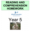 Reading and Comprehension Year 5