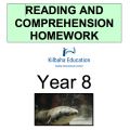 Reading and Comprehension Year 8