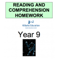 Reading and Comprehension Year 9