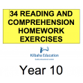 Reading - All Year 10 Homework Exercises
