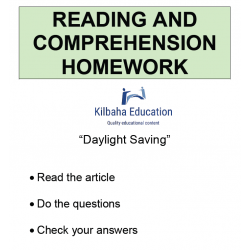 Reading - Daylight saving