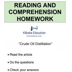 Reading - Crude Oil Distillation