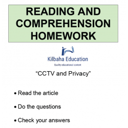 Reading - CCTV and Privacy