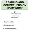 Reading - Get Smart