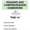 Reading - Deja Vu