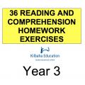 Reading - All Year 3 Homework Exercises