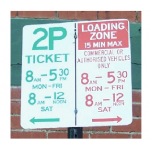 Reading - Parking Signs